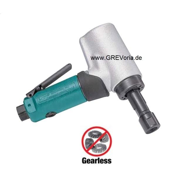 Dynabrade 52218 Druckluft Winkelstabschleifer mit Spannzange langer Schaft Stabschleifer 20000 RPM