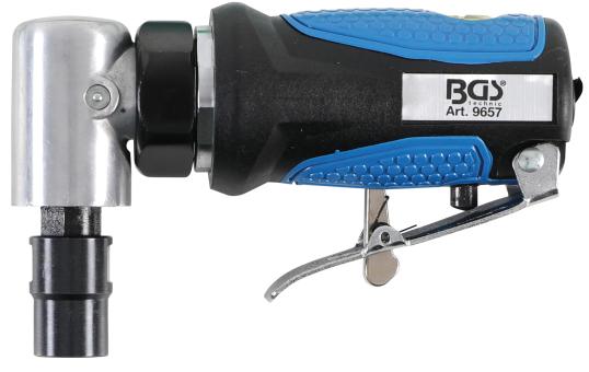 BGS technic 9657 Stabschleifer | extra kurz | 90° abgewinkelt | 126 mm