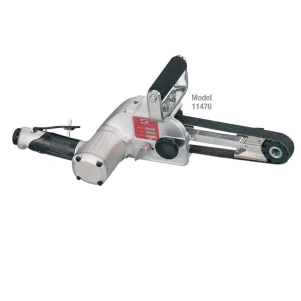 Dynabrade 11476 Druckluft Bandschleifer Dynabelter 1,2 PS Bandschleifmaschine mit Kontaktarm 25x76mm