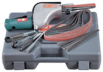Druckluft-Bandschleifer 14010 im Koffer-Set Dynabrade Dynafile Druckluftfeile Schleifbandlänge 610mm