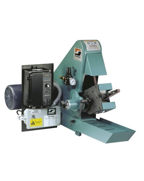 Stationäre Bandschleifmaschine 64881 Dynabrade Elektro-Bandschleifer Universal mit Kontaktarm