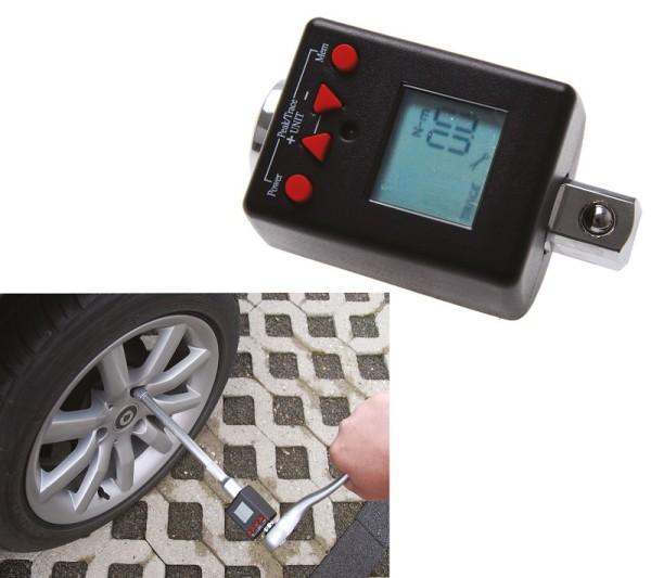 """BGS 977 Drehmomentmessgerät Digital 1/2"""" Drehmoment-Adapter 40-200 Nm"""