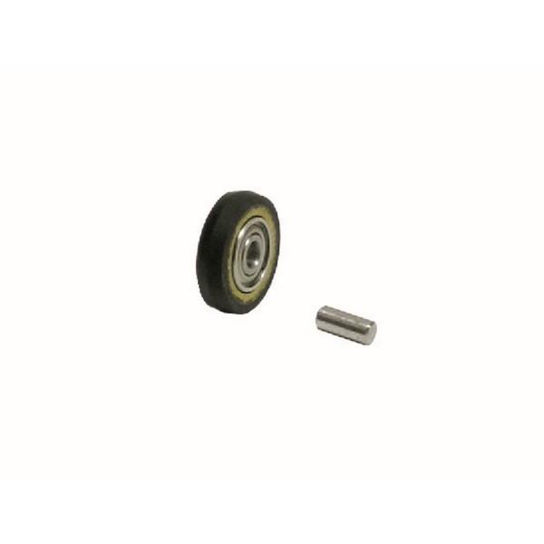 Kontaktrad 11074 Dynabrade mit Lager & Achse für Dynafile-Serie Gummi Schleifrad 6,5 x 610 mm