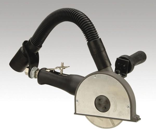 Dynabrade Druckluft-Trennschleifer 52615 mit Absaugung 127 mm und 1.3 PS Diamanttrennschleifer