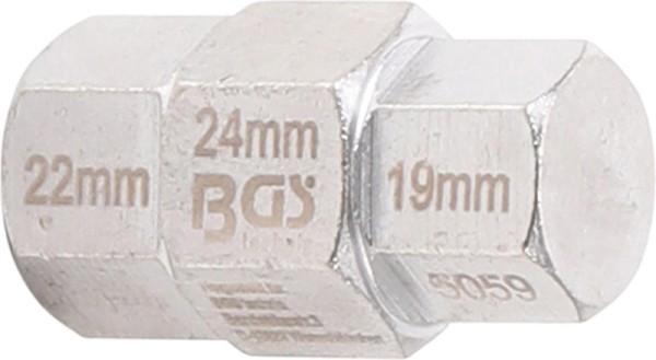 BGS 5059 Steckachsenschlüssel Yamaha Suzuki Honda BMW Motorrad-Spezialeinsatz 19-24 mm