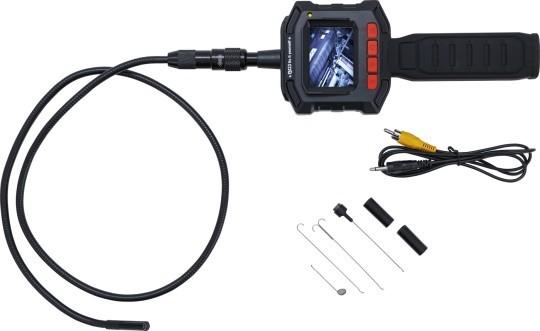 Kraftmann 63216 Inspektionskamera Farbdisplay 640x480 Pixel Schwanenhals 980 mm als Set