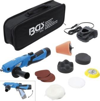 BGS technic 9294 Akku-Mini-Poliermaschinen-Satz | max. 2.800 U/min | 12 V | 1500 mAh