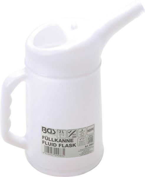 BGS technic 9983 Füllkanne säurebeständig 2 Liter