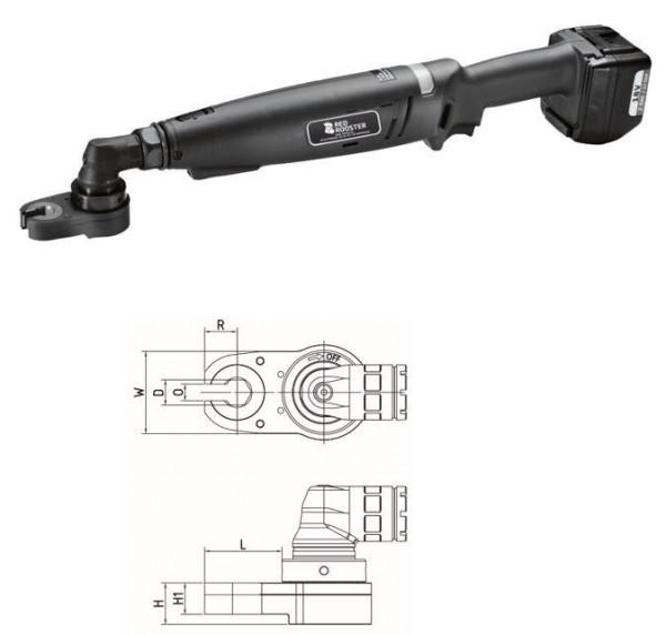 Akku Winkelschrauber mit Offenmaulabtrieb RRI-BA35BOA H14 Red Rooster Schlüsselweite 14 mm 10-23 Nm
