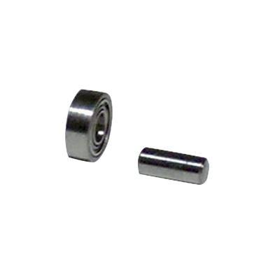 Kontaktrad 11066 Dynabrade mit Lager & Achse für Dynafile-Serie Schleifrad Schleifbänder 6-13x610 mm