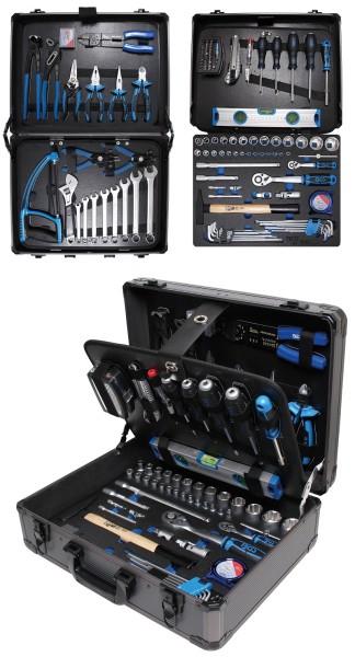 BGS 15501 Alu Werkzeugkoffer mit 149-teiligen Werkzeugsortiment als Profiset