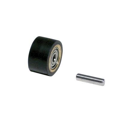 Kontaktrad 11078 mit Lager & Achse für Dynabrade Dynafile-Serie Schleifbänder 13 mm x 610 mm