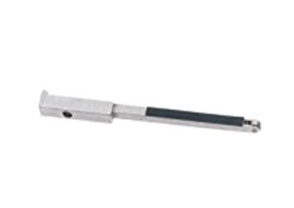 Dynafile Kontaktarm 11212 Dynabrade mit Stahlrad und Auflagepad Schleifarm Komplett-Set
